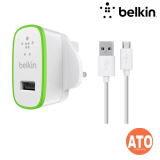 BELKIN Universal 2.1A Home Charger with Micro USB Charge Sync Cable