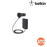 BELKIN CAR CHRGR W/EXTNSN HUB 4 PORT 7.2A/ 36W 6 BLK