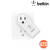 BELKIN Rotating Dual USB 2.4A Charger with AC Pass-Through * No Cable Included - White * 220-240V / 16A / 3250W and Compatible with all iPods, iPhones, iPads and most USB devices (CEW US$2,500 / 80,000 Baht)