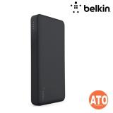 BELKIN POCKET POWER, 5K, W/MICRO USB/USB CBL, BLK/ SLV/ RS G