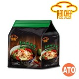 RED CHEF GREEN TOM YUM SOUP NOODLES 4x110G