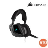 CORSAIR VOID RGB ELITE USB Premium Gaming Headset with 7.1 Surround Sound - Carbon/ White