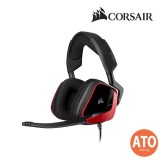 CORSAIR VOID ELITE SURROUND Premium Gaming Headset with 7.1 Surround Sound - Carbon/ Cherry