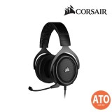 CORSAIR HS50 PRO STEREO Gaming Headset- Carbon/ Green/ Blue