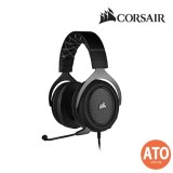 CORSAIR HS60 PRO SURROUND Gaming Headset- Carbon/ Yellow