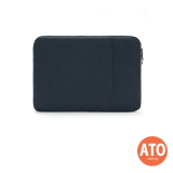 Soft Pouch for 15.6'' Portable Monitor / Laptop (Black   Dark Blue)