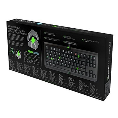 Razer Blackwidow Tournament 2014 Mechanical Gaming Keyboard (Green Switch)