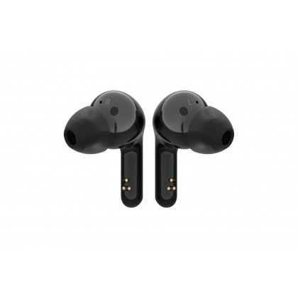 LG TONE Free HBS-FN6 Bluetooth Wireless Stereo Earbuds with UVnano Charging Case and Meridian Audio (Black | White)