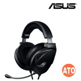 ROG Theta Electret 3.5mm gaming headset with Essence electret and bass drivers that deliver hi-fidelity sound and optimized bass, a certified built-in boom microphone and multiplatform support for PC, game consoles and mobile devices