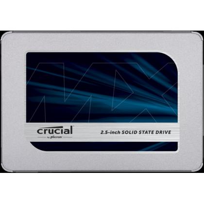 **5 Years Warranty**Crucial MX500 3D NAND SATA 2.5 inch 7mm Internal SSD - (250GB | 500GB | 1TB | 2TB)