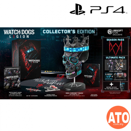 Watch Dogs Legion Collector 039 S Edition Mask Wearable Because No One Can Just Release A Game Anymore You Also Have The Options Of The Ultimate Gold And Standard Editions Of Watch Dogs
