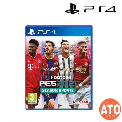 eFootball PES 2021 Season Update for PS4 (R3-ENG/CHI)