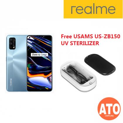 FREE Realme Buds Q** Realme 7 Pro (8GB+128GB) - Mirror Blue | Mirror Silver
