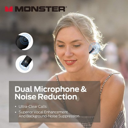 Monster Clarity 550 LT Wireless Earbuds **12 Month One to one Warranty Replacement