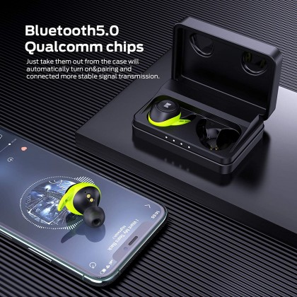 Monster Champion Airlinks Wireless Earphones **12 Month One to one Warranty Replacement