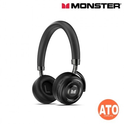 Monster Icon Anc Wireless Headphones **12 Month One to one Warranty Replacement
