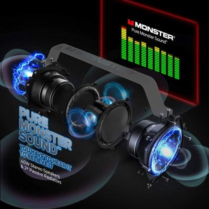 Monster Adventurer Force Wireless Speaker **12 Month One to one Warranty