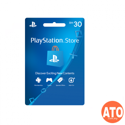 Playstation Network Prepaid | PSN Wallet - RM30 (MY)