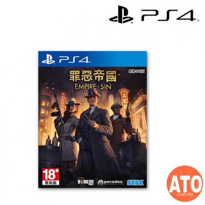 Empire of Sin for PS4 (AS-ENG/CHI)