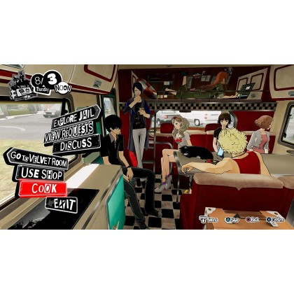 Persona 5 Strikers for PS4 (R3-ENG)