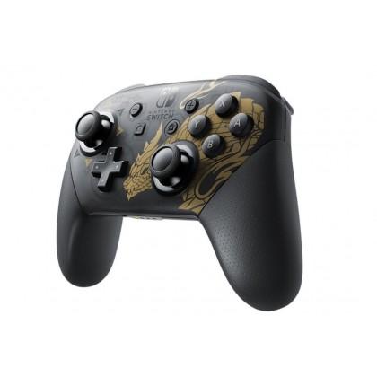Nintendo Switch Pro Controller (Monster Hunter Rise Edition) Import Unit *1 Week Warranty*
