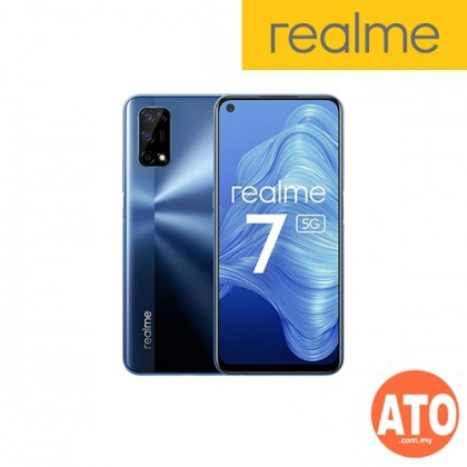 Realme 7 5G (8GB+128GB) - Blue | White