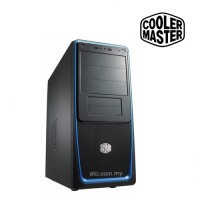 Cooler Master Elite 311 USB3.0 With Side Window Chassis (Blue| Silver| Red)