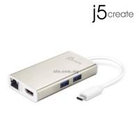 J5 JCA374 USB Type-C Multi-Adapter