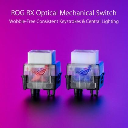 **Pre-Order** ROG Claymore II Keyboard Red Switch + ROG Gladius III Mouse Wireless Set Combo ETA *11 June 2021*