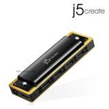 J5 JUH345 USB 3.0 4-Port HARMONICA HUB