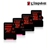 Kingston Class 10 SDCA3 UHS-I (U3) Micro SDHC/Micro SDXC