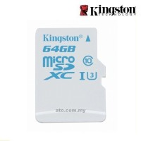 Kingston Class 10 SDCAC UHS-I (U3) Micro SD for Action Camera
