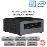 Intel NUC7i7BNHXG (i7/2.4GHz/8GB DDR4/2TB/32GB OPTANE)