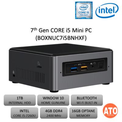Intel BOXNUC7i5BNHXF (i5/2.2GHz/4GB DDR4/16GB OPTANE)