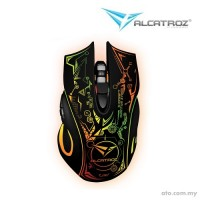 Alcatroz X-Craft PRO Quantum Z7000 Wireless Rechargeable Mouse