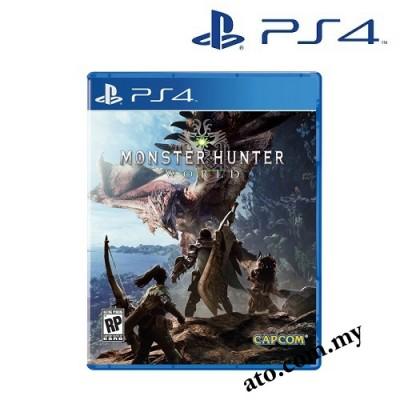 Monster Hunter: World for PS4