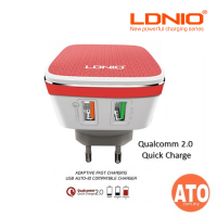 LDNIO Qualcomm 2.0 Quick Charge 2 USB Wall Charger