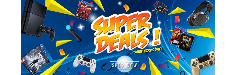 PS4 SUPER DEALS