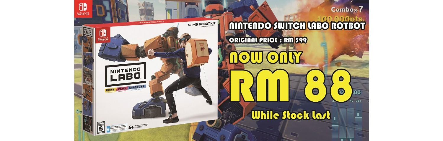 Labo Robot at only RM88