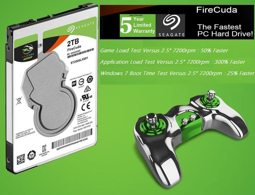 Seagate Firecuda 2 5