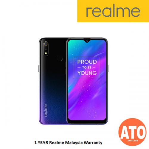 Realme 3 (3GB RAM + 32GB ROM, MediaTek Helio P60, 4230mAh